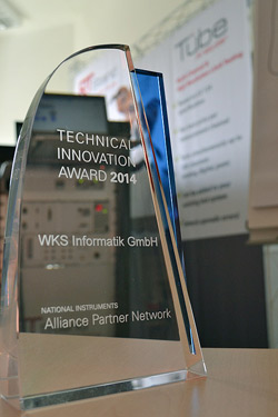 RTStand,Technical Innovation, Award,NI
